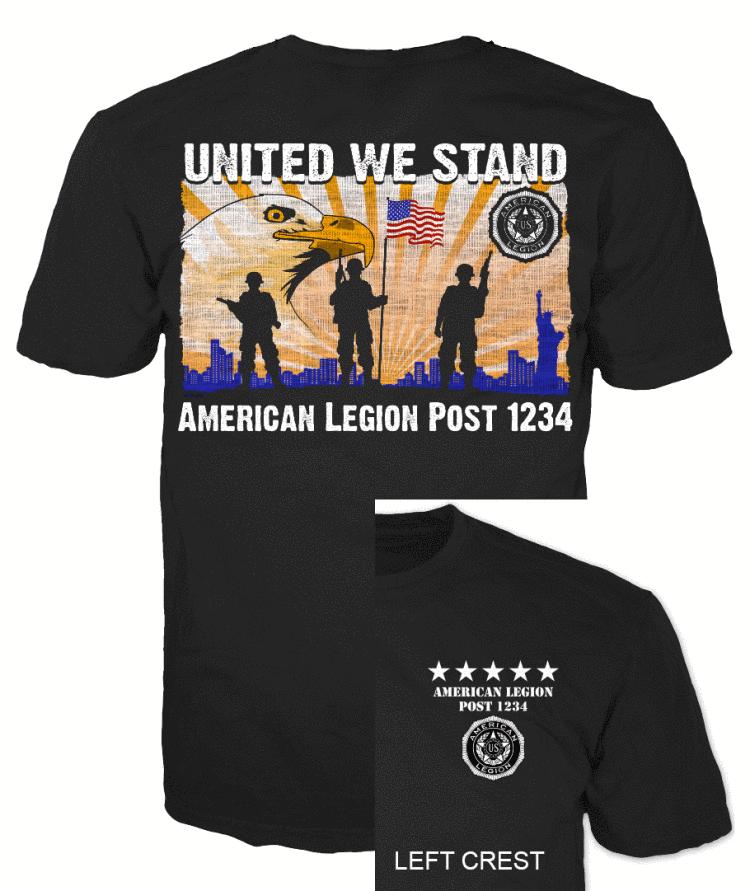 American legion United We Stand T-Shirt