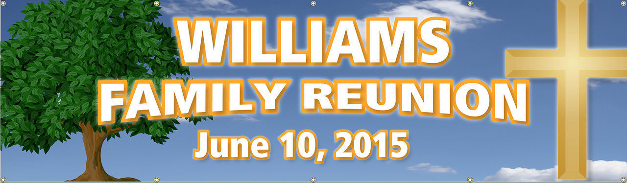 family reunion banner