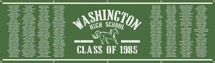 custom-high-school-reunion-banner-name-list