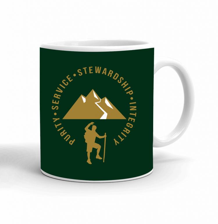 Trail Life Word to Live By Mug Back