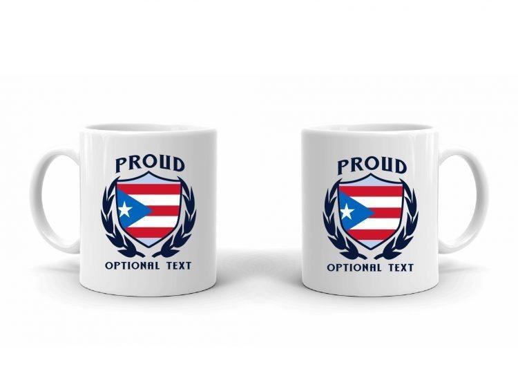 Proud Puerto Rican Flag Mug
