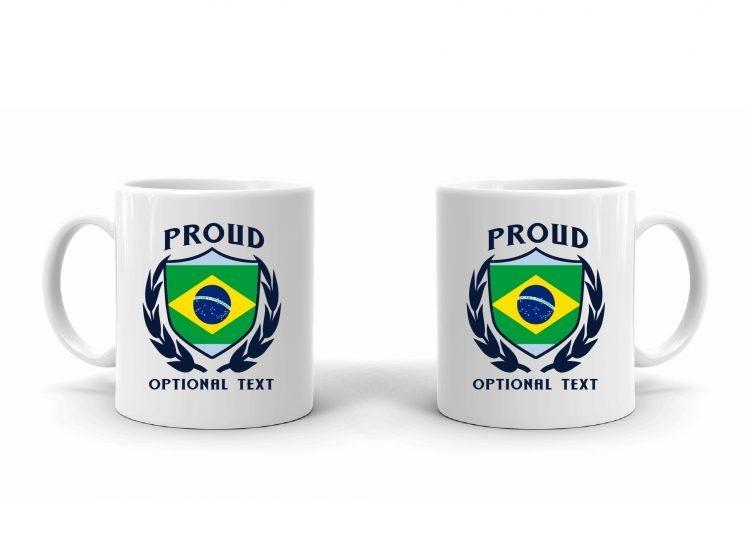 Proud Brazilian Flag Mug