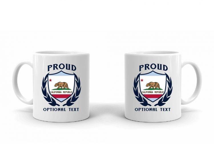 Proud Californian Flag Mug