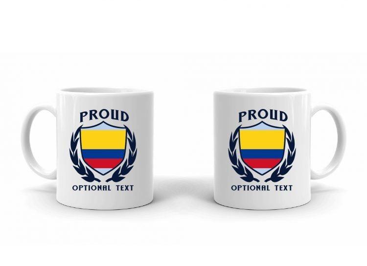 Proud Colombian Flag Mug