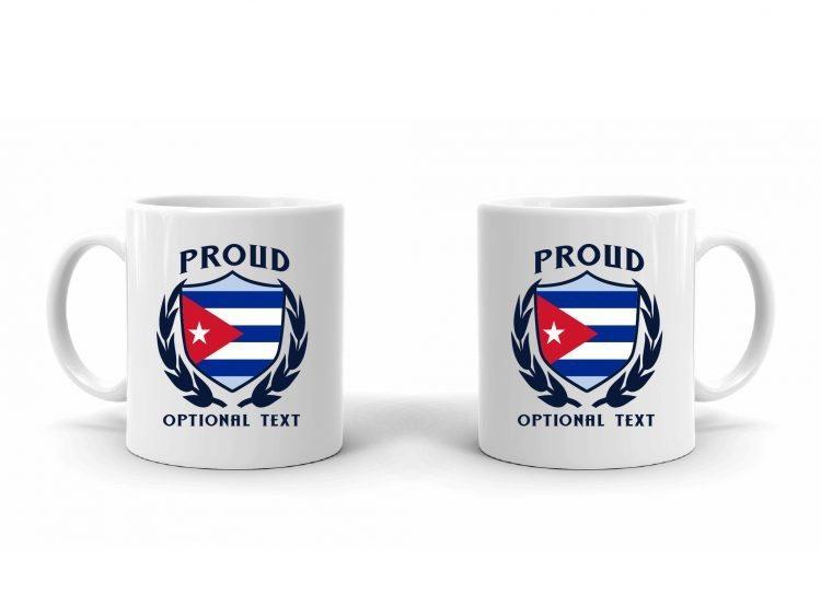 Proud Cuban Flag Mug