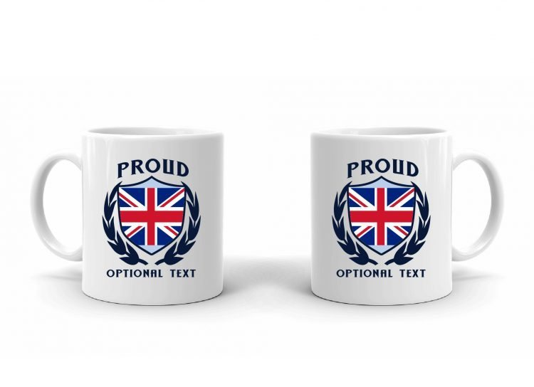 Proud English Flag Mug