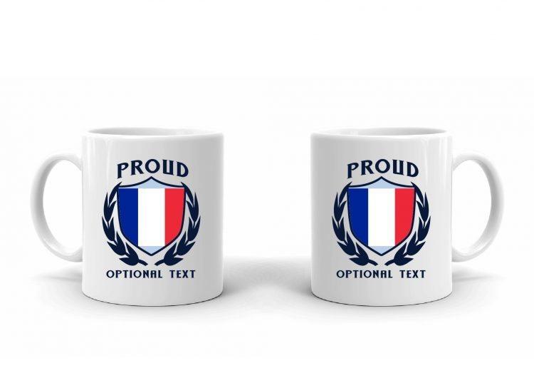 Proud French Flag mug
