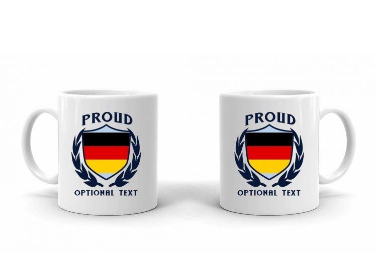 Proud German Flag Mug