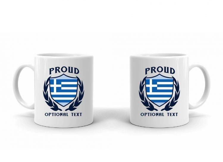 Proud Greek Flag Mug