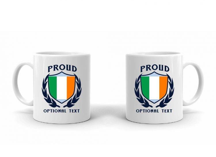 Proud Irish Flag Mug