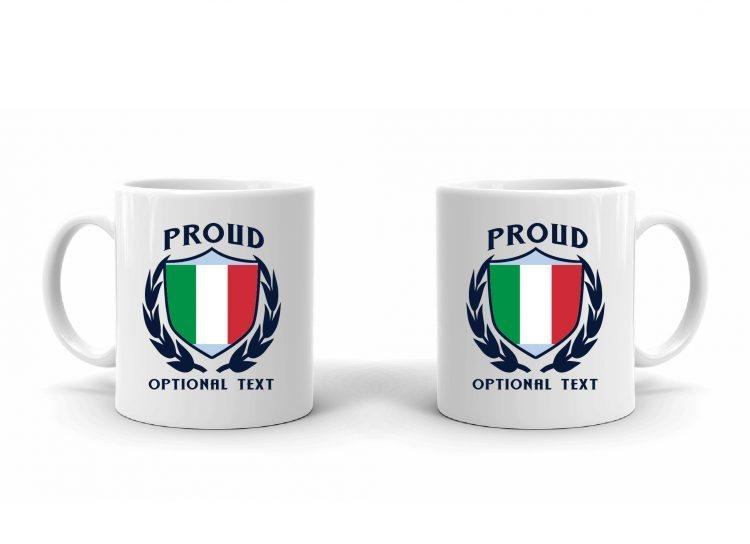 Proud Italian Flag Mug