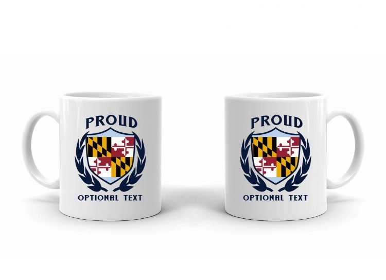 Proud Marylander Flag Mug