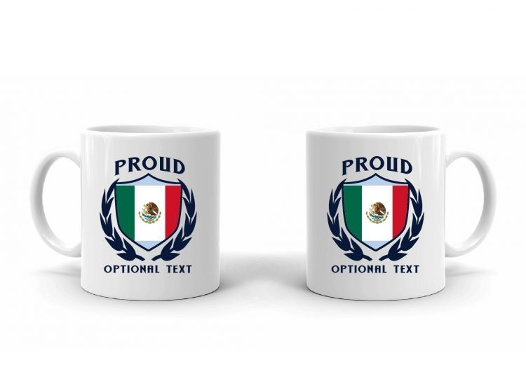 Proud Mexican Flag Mug