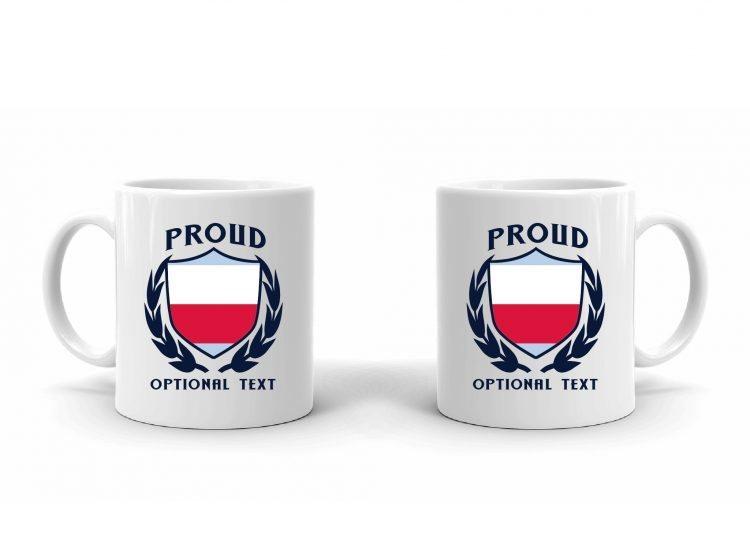 Proud Polish Flag Mug