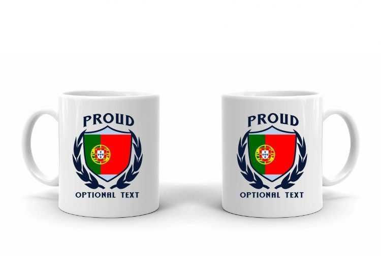 Proud Portuguese Flag Mug