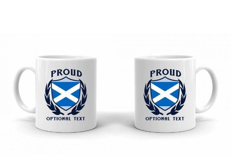 Proud Scottish Flag Mug