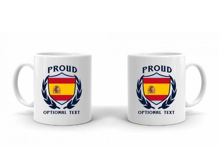 Proud Spanish Flag Mug