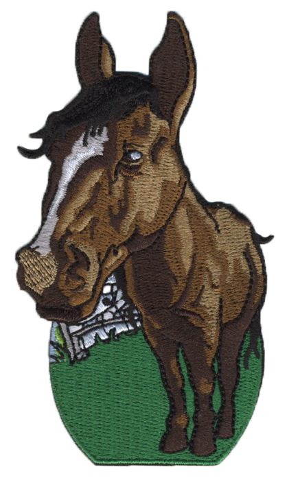 Horse Embroidered Patch