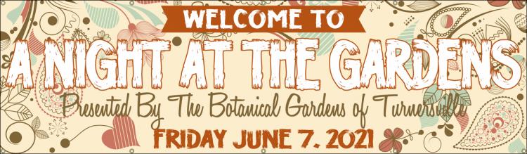 Event Vinyl Banner with Modern Botanical design